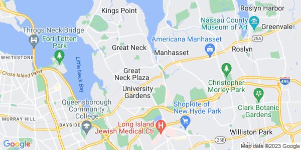 Map of Thomaston, NY