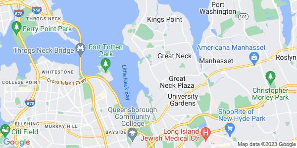 Map of Harbor Hills, NY