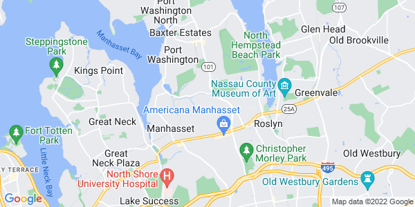 Map of Flower Hill, NY