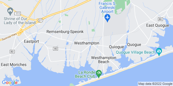 Map of Westhampton, NY