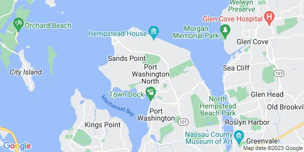 Map of Port Washington North, NY