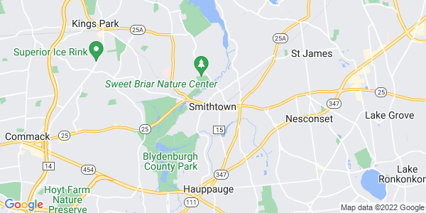 Map of Smithtown CDP, NY