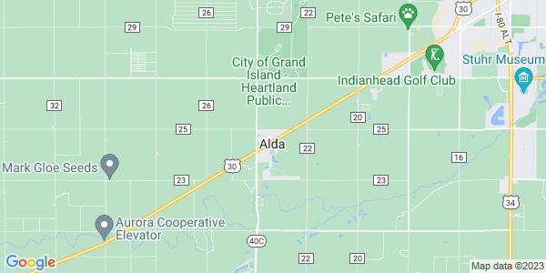 Map of Alda, NE