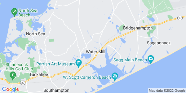 Map of Water Mill, NY