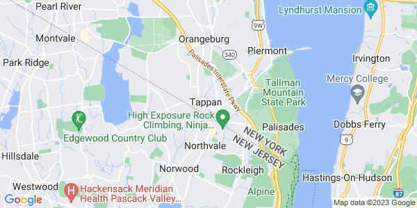 Map of Tappan, NY