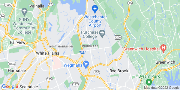 Map of Purchase, NY