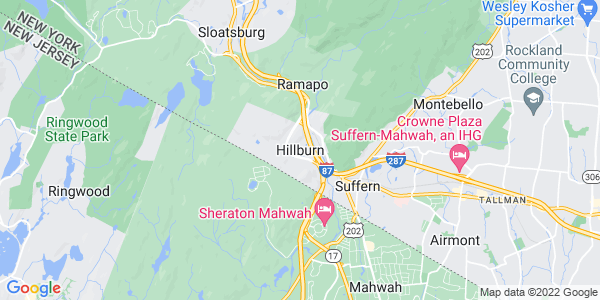 Map of Hillburn, NY