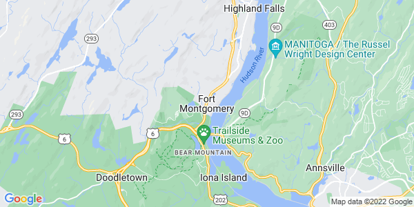 Map of Fort Montgomery, NY