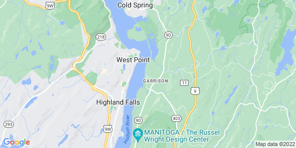 Map of Garrison, NY