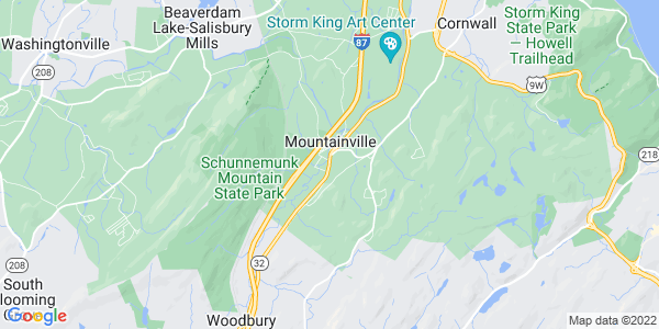 Map of Mountainville, NY