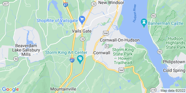 Map of Firthcliffe, NY