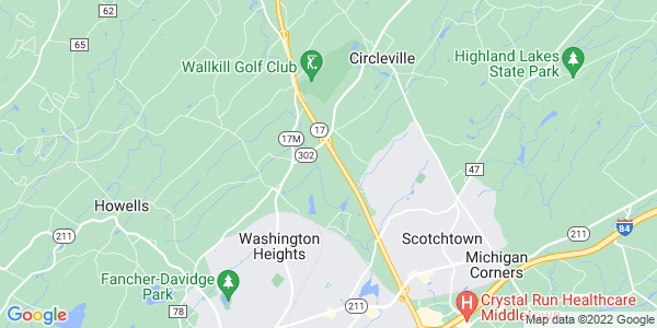 Map of Wallkill, NY