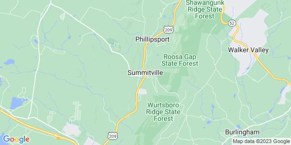 Map of Summitville, NY