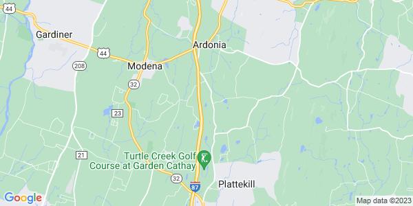 Map of Plattekill, NY