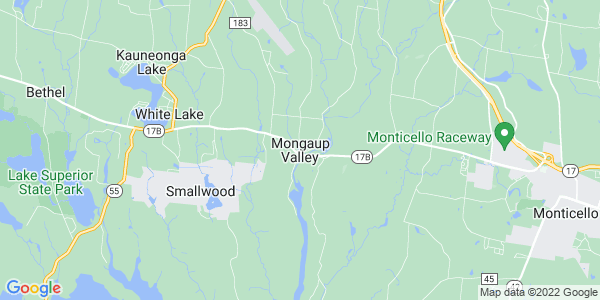 Map of Mongaup Valley, NY