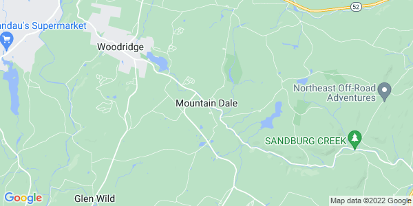 Map of Mountain Dale, NY