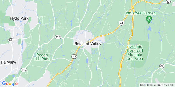 Map of Pleasant Valley CDP, NY