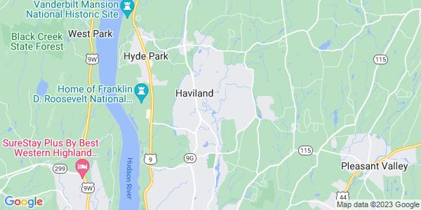 Map of Haviland, NY