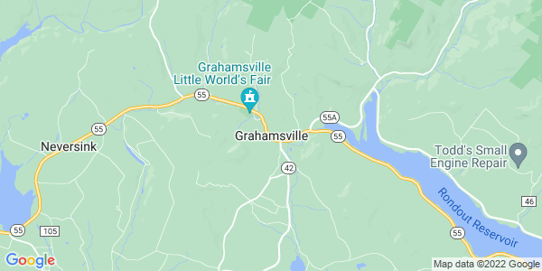 Map of Grahamsville, NY
