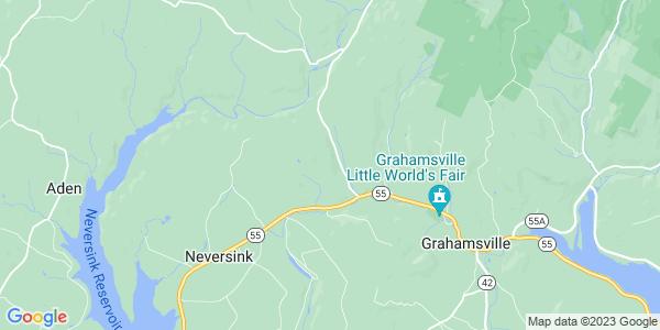 Map of Neversink, NY