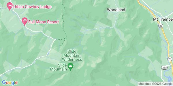 Map of Shandaken, NY