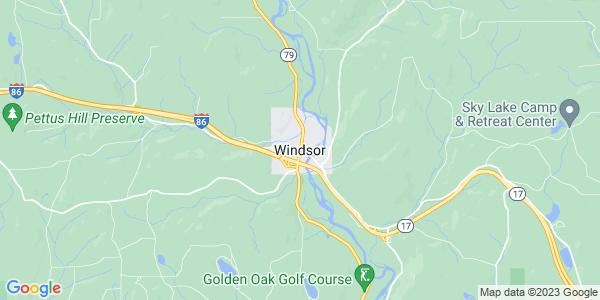 Map of Windsor, NY
