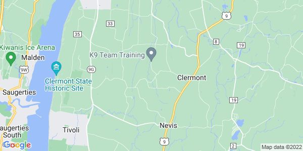 Map of Clermont, NY