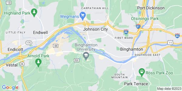 Map of Bible School Park, NY
