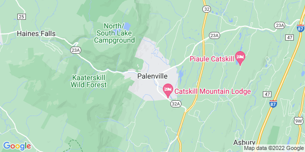 Map of Palenville, NY