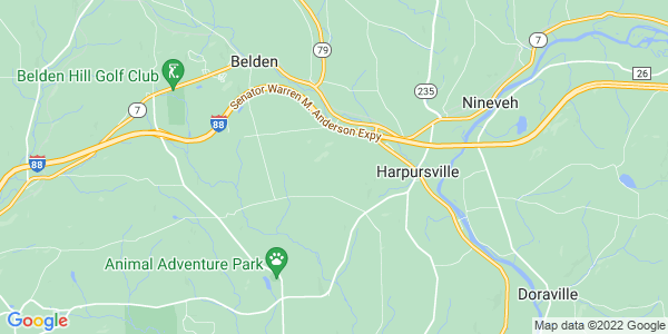 Map of Colesville, NY