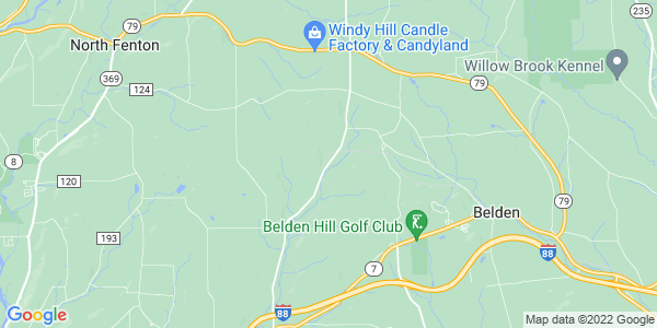 Map of Tunnel, NY