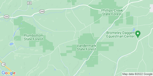 Map of Ward, NY