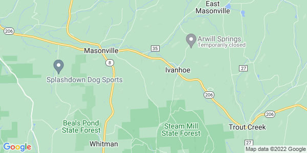 Map of Masonville, NY