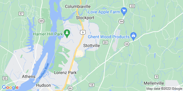 Map of Stottville, NY