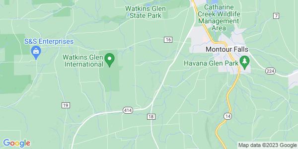 Map of Dix, NY