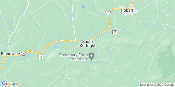 Map of South Kortright, NY