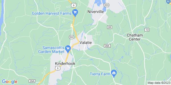 Map of Valatie, NY