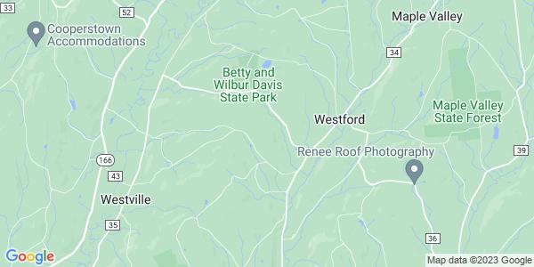 Map of Westford, NY
