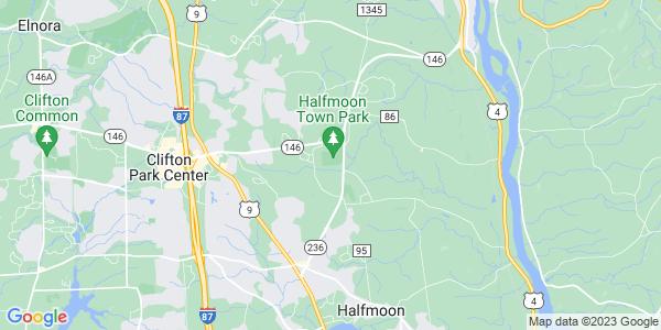 Map of Halfmoon, NY
