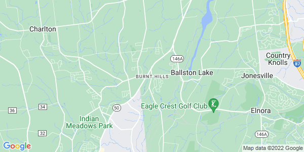 Map of Burnt Hills, NY