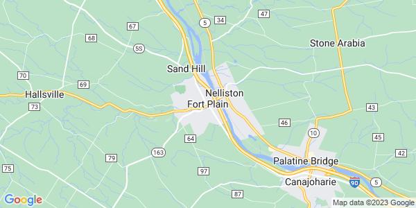 Map of Fort Plain, NY