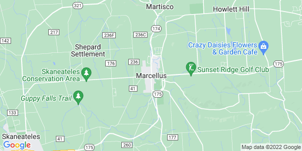 Map of Marcellus, NY