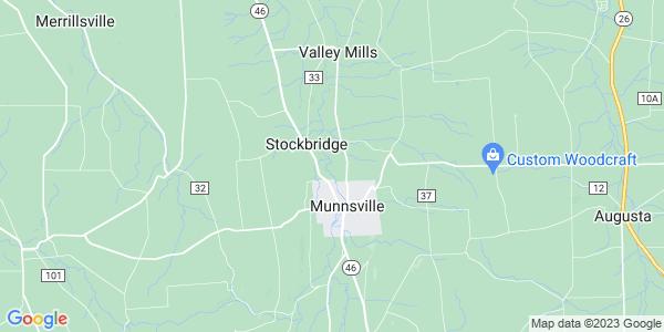 Map of Stockbridge, NY