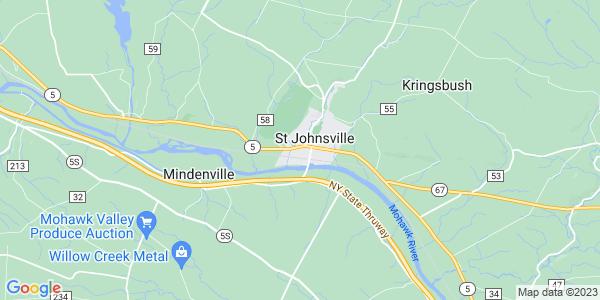 Map of St. Johnsville, NY