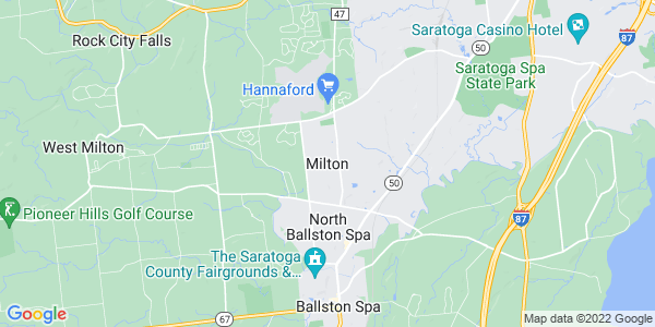 Map of Milton CDP, NY