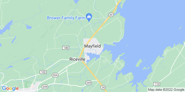 Map of Mayfield, NY