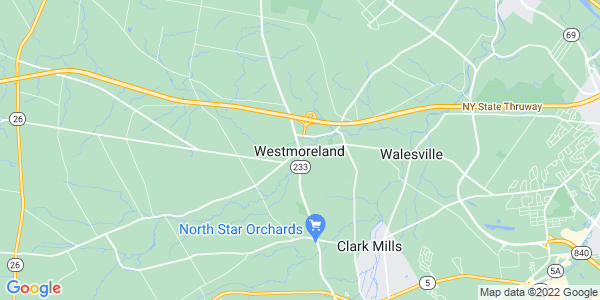 Map of Westmoreland CDP, NY