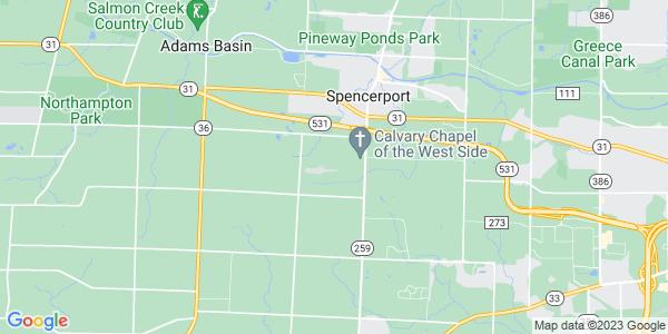 Map of Ogden, NY