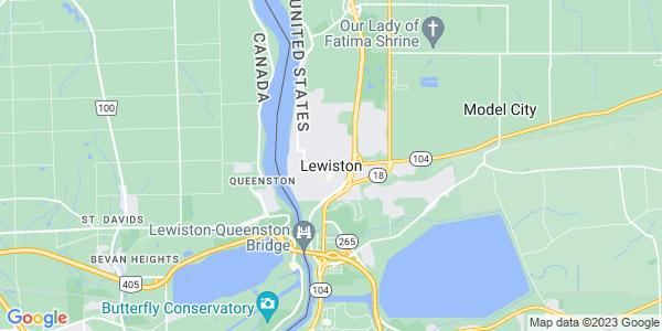 Map of Lewiston, NY