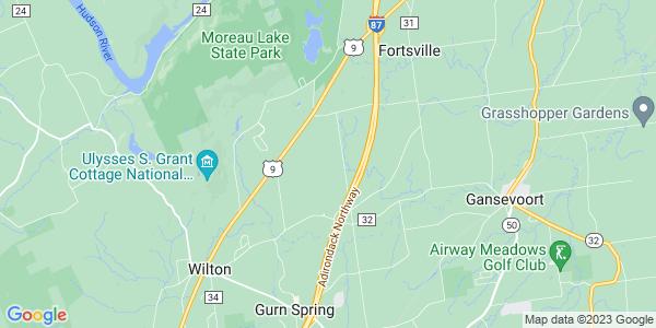 Map of Gansevoort, NY
